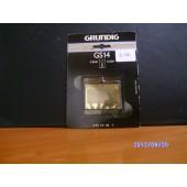 Original Grundig Scherblatt GS 14 für G 8240, G 8241