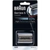 Braun Kombipack 52S/ Scherteilekassette Series 5/ KP52S Silber passend für 5090CC, 5070CC, 5040, 5030
